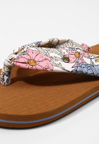 O'Neill - DITSY SUN - T-bar sandals - white all over print - 6