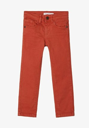 NMMTHEO TWIATOP PANT - Trousers - burnt brick