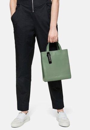 PAPER BAG TOTE S PURISTISCHE TRAGETASCHE - Handbag - sage