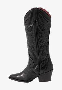 JUKESON - Kovbojské/motorkářské boty - black