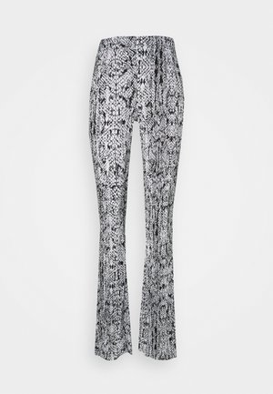 SNAKE FLARE - Trousers - multi