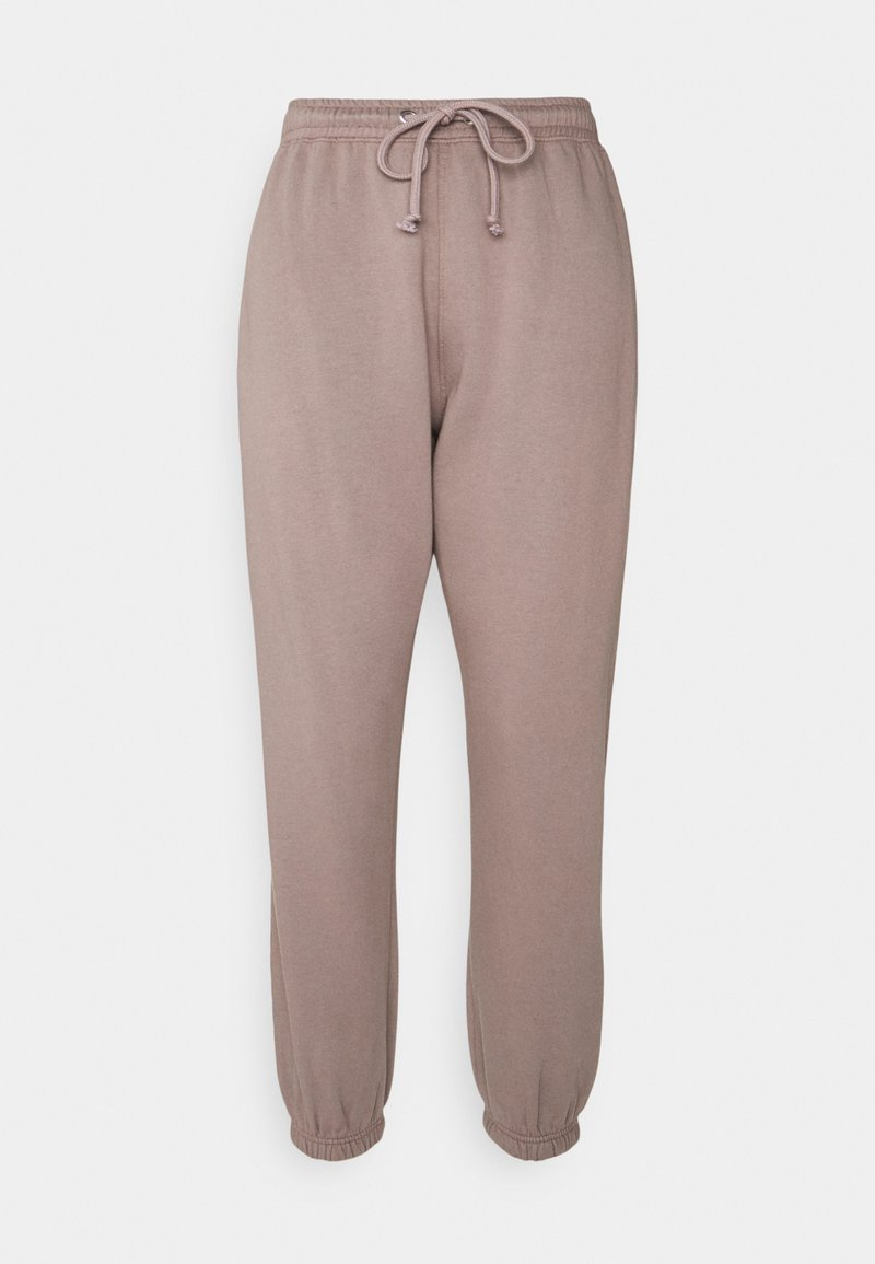 Missguided Petite - BASIC OVERSIZED JOGGER - Tracksuit bottoms - brown