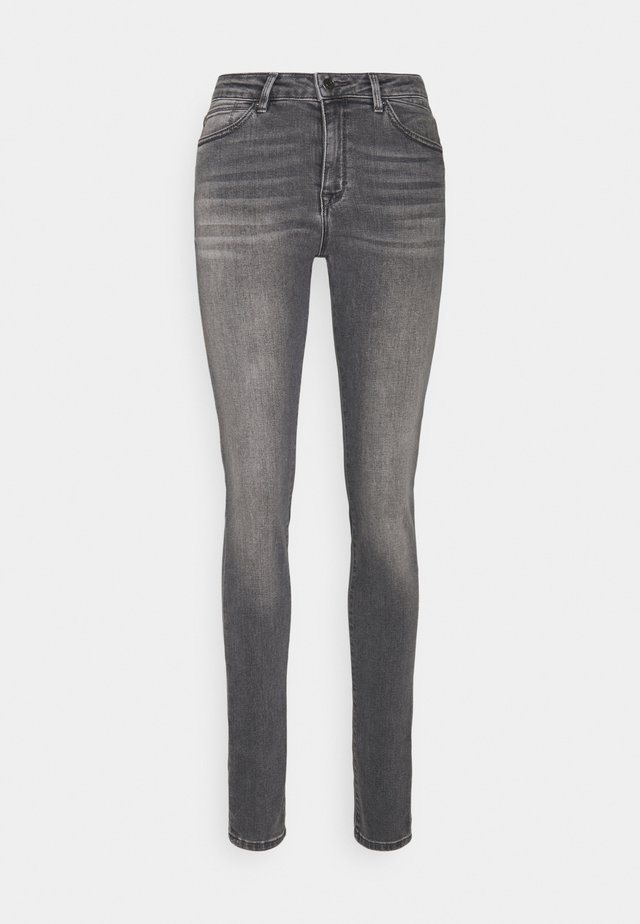 Skinny džíny - grey medium wash