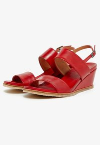 Bianco - Wedge sandals - red - 3