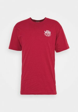 HOLDER CLASSIC - Camiseta estampada - cardinal