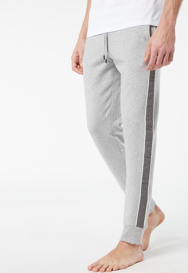 MIT GALONSTREIFEN - Pantalon de survêtement - grigio melange