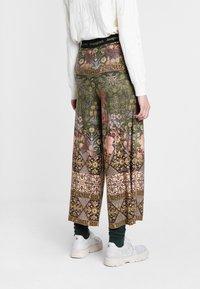 Desigual - PANT - Trousers - green - 2