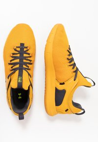 Under Armour - HOVR RISE 2 - Sports shoes - golden yellow/yellow ray - 1