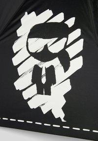 KARL LAGERFELD - Umbrella - black/ white - 2