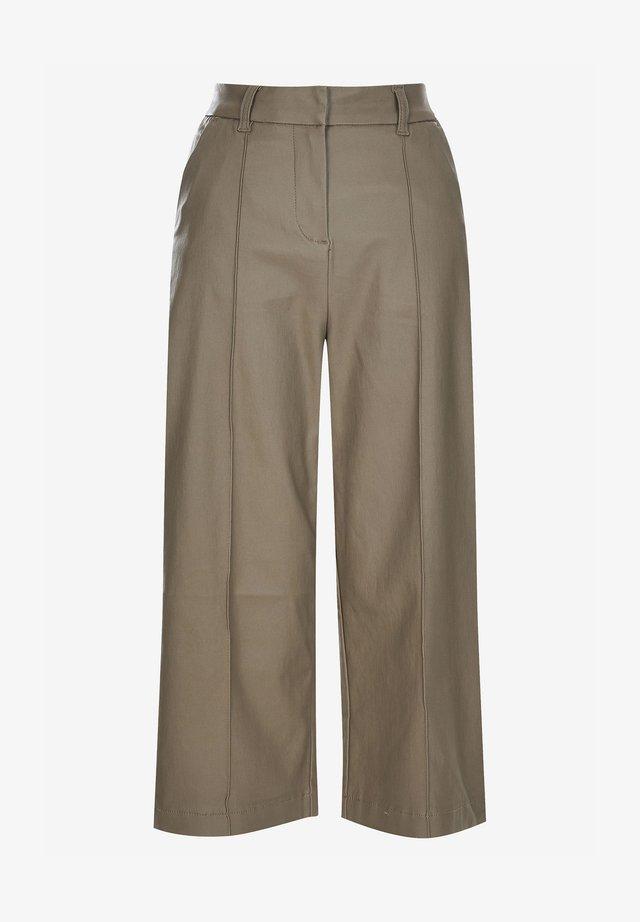 CULOTTES - Pantalones - green