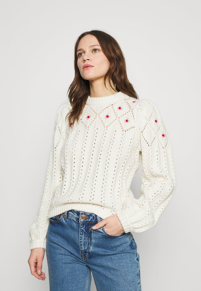 Notes du Nord - TALLY - Jumper - winter white