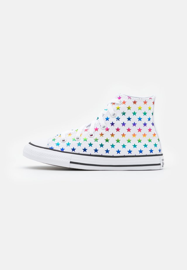 CHUCK TAYLOR ALL STAR ARCHIVE FOIL STAR PRINT UNISEX - Sneakers alte - white/black