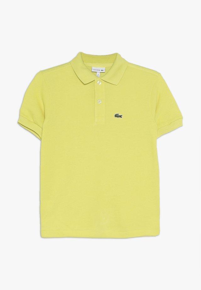 Poloshirt - midday yellow