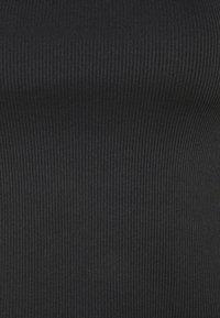 NA-KD - NA-KD X ZALANDO EXCLUSIVE - SOFT RIBBED TANK - Top - black - 6