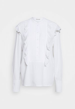 AZILIA - Button-down blouse - pure white