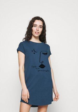 NIGHTIE CAPS NECK - Nattskjorte - insignia blue