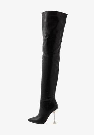 DELTA - Botas de tacón - black
