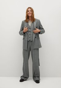 Mango - MILAN - Waistcoat - gris - 1