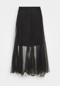 AllSaints - ELVIE TULLE SKIRT - A-line skirt - black - 4