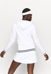 Polo Ralph Lauren Golf - FULL ZIP LONG SLEEVE - Bluza rozpinana - pure white/french navy - 2