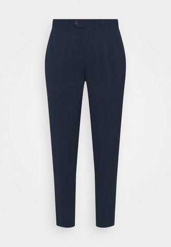 PAX PANTS - Kangashousut - navy blazer