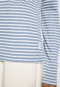 Marc O'Polo DENIM - LONGSLEEVE SLIM FIT STRIPE - Long sleeved top - blue - 4