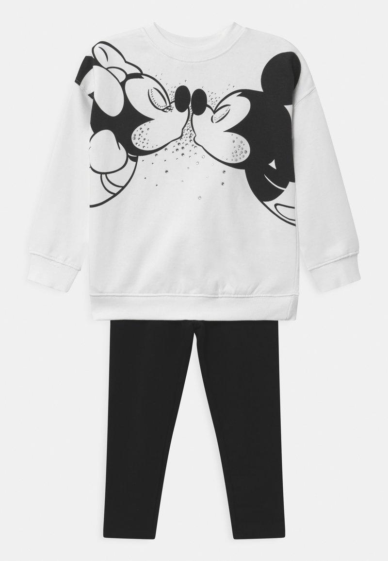 OVS - DISNEY MICKEY MOUSE & MINNIE MOUSE SET  - Sweatshirt - snow white