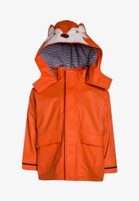 JoJo Maman Bébé - FOX  - Waterproof jacket - rust - 0