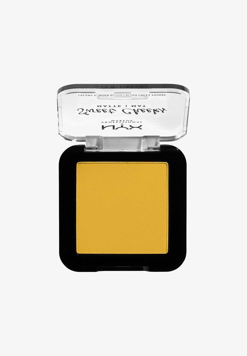 Nyx Professional Makeup - SWEET CHEEKS CREAMY POWDER BLUSH MATTE - Blusher - 11 silence is golden