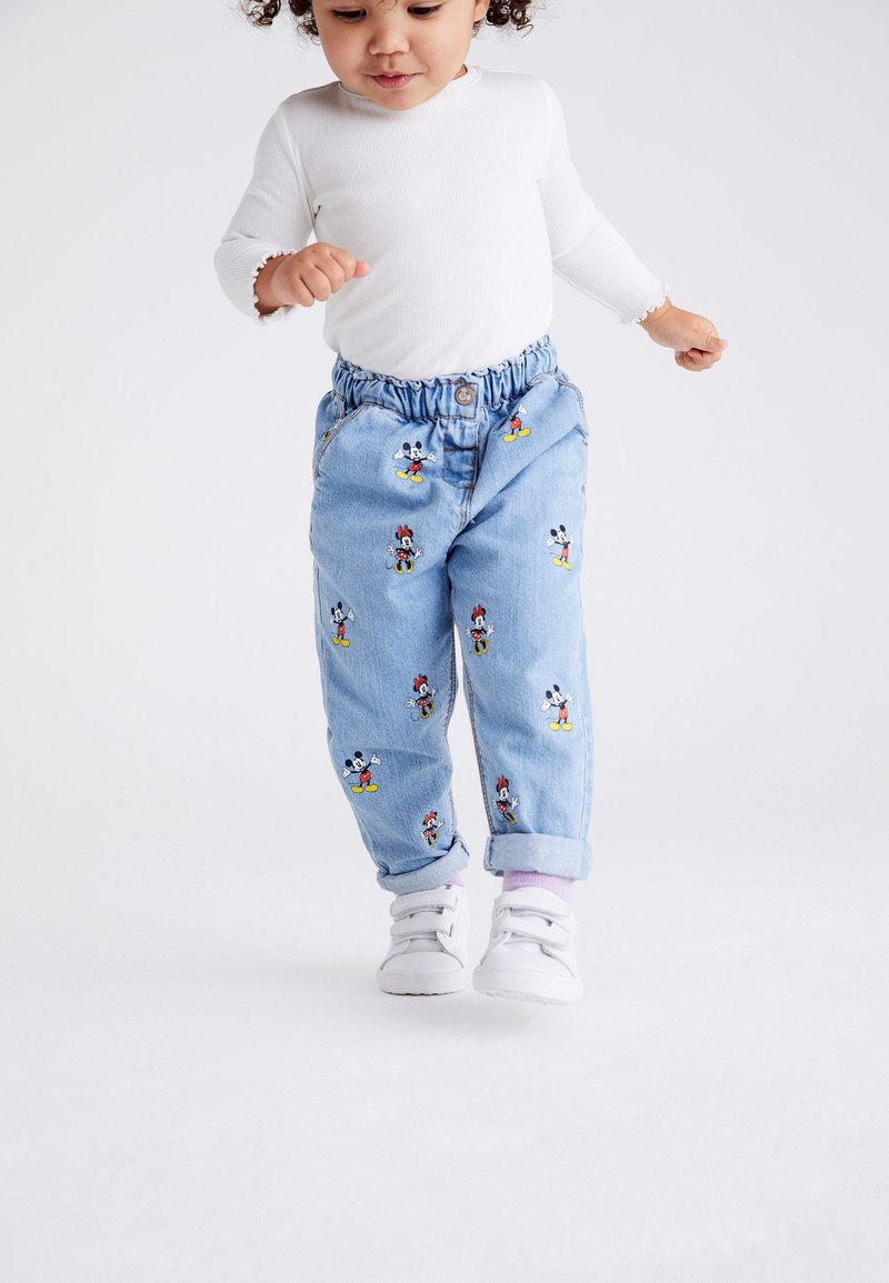 Next - DISNEY MICKEY AND MINNIE MOUSE - Straight leg jeans - blue