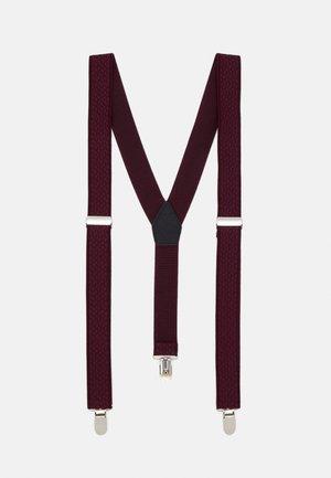 BRACE - Belt - burgundy