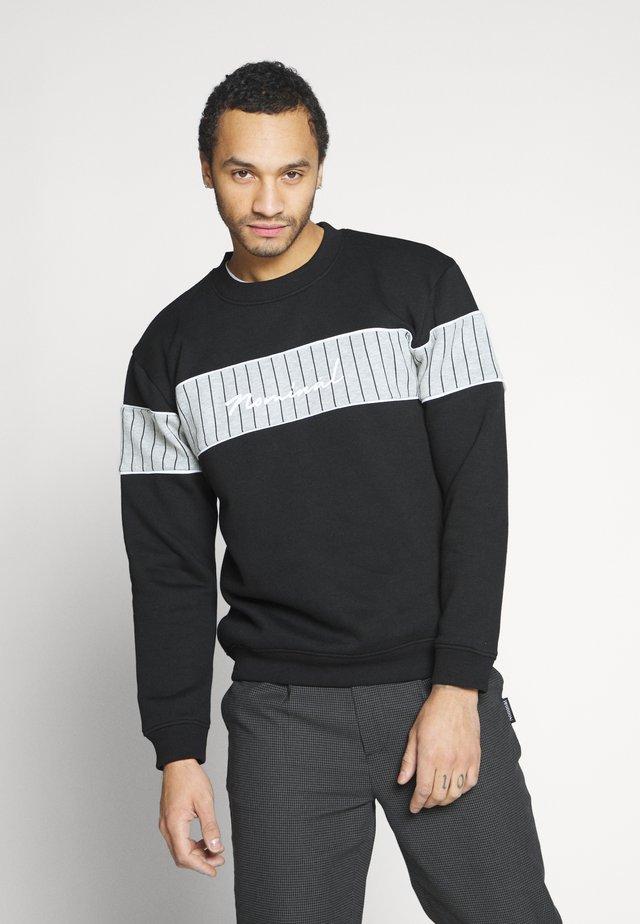 GRESHAM CREW - Sweatshirt - black