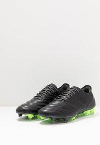 adidas Performance - COPA 20.1 FOOTBALL FIRM GROUND - Fotbollsskor fasta dobbar - core black/signal green - 2