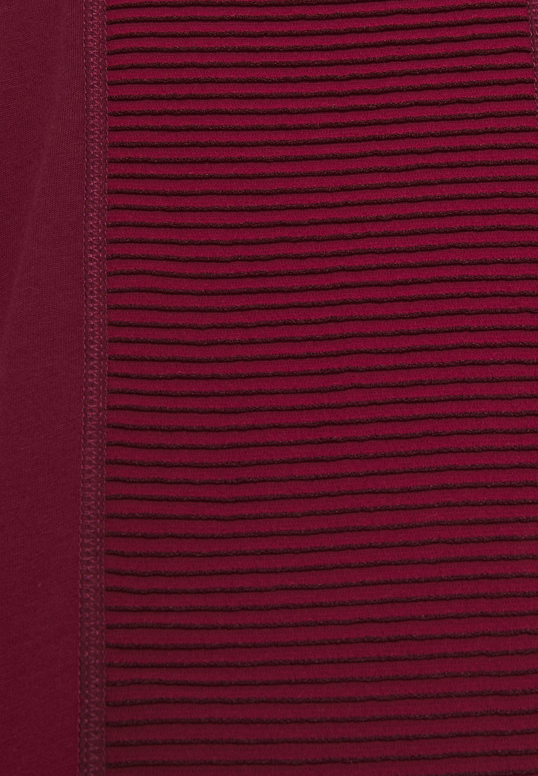 Nike Performance AEROADAPT - Print T-shirt - dark beetroot/metallic silver mmoWr