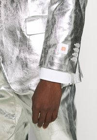 OppoSuits - SHINY SET - Suit - silver - 9