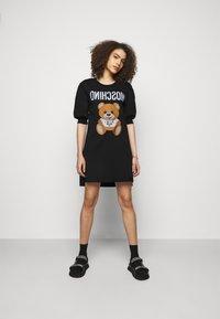 MOSCHINO - DRESS - Jersey dress - black - 1