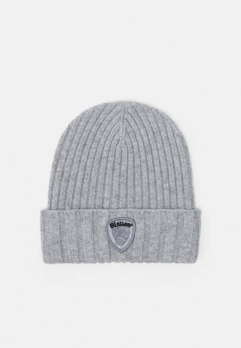 Blauer - BASIC HAT UNISEX - Lue - nebbia melange