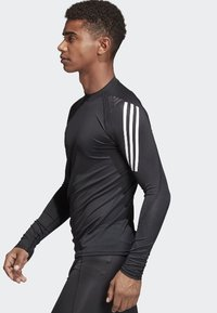 adidas Performance - Alphaskin Sport+ 3-Stripes TeALPHASKIN SPORT+ 3-STRIPES LONG-SLEEVE TOP - Sports shirt - black - 2