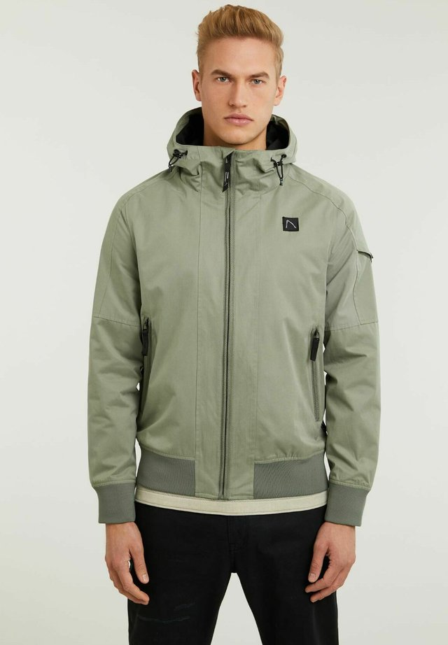 Giacca outdoor - green