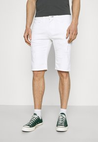INDICODE JEANS - COMMERCIAL KEN HOLES - Shorts di jeans - offwhite - 0