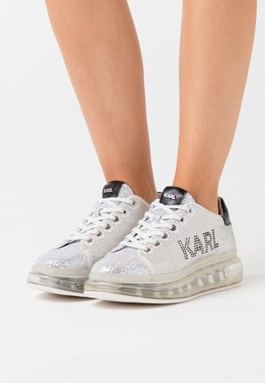 KAPRI KUSHION LOGO - Sneaker low - silver