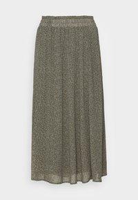Selected Femme - SLFGAIA MIDI SKIRT - A-line skirt - kalamata - 3