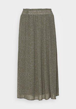 SLFGAIA MIDI SKIRT - A-line skirt - kalamata