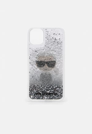 IKONIK GLITTER CASE IPHONE 11 - Telefoonhoesje - transparent