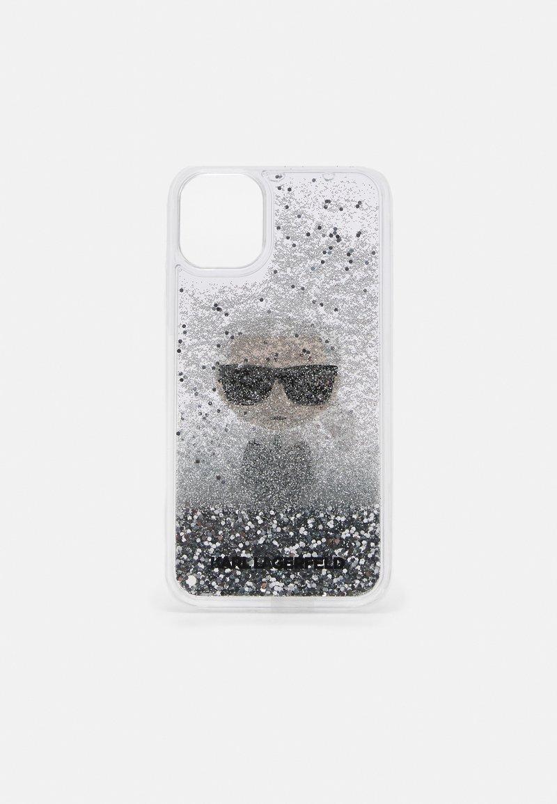 KARL LAGERFELD - IKONIK GLITTER CASE IPHONE 11 - Handytasche - transparent