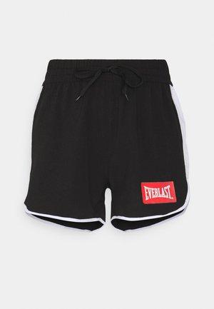 LALY - Pantalón corto de deporte - black/white