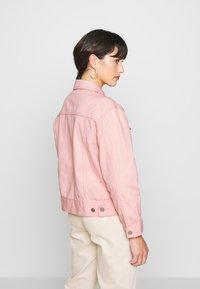 Missguided Petite - OVERSIZED JACKET - Denim jacket - blush - 2