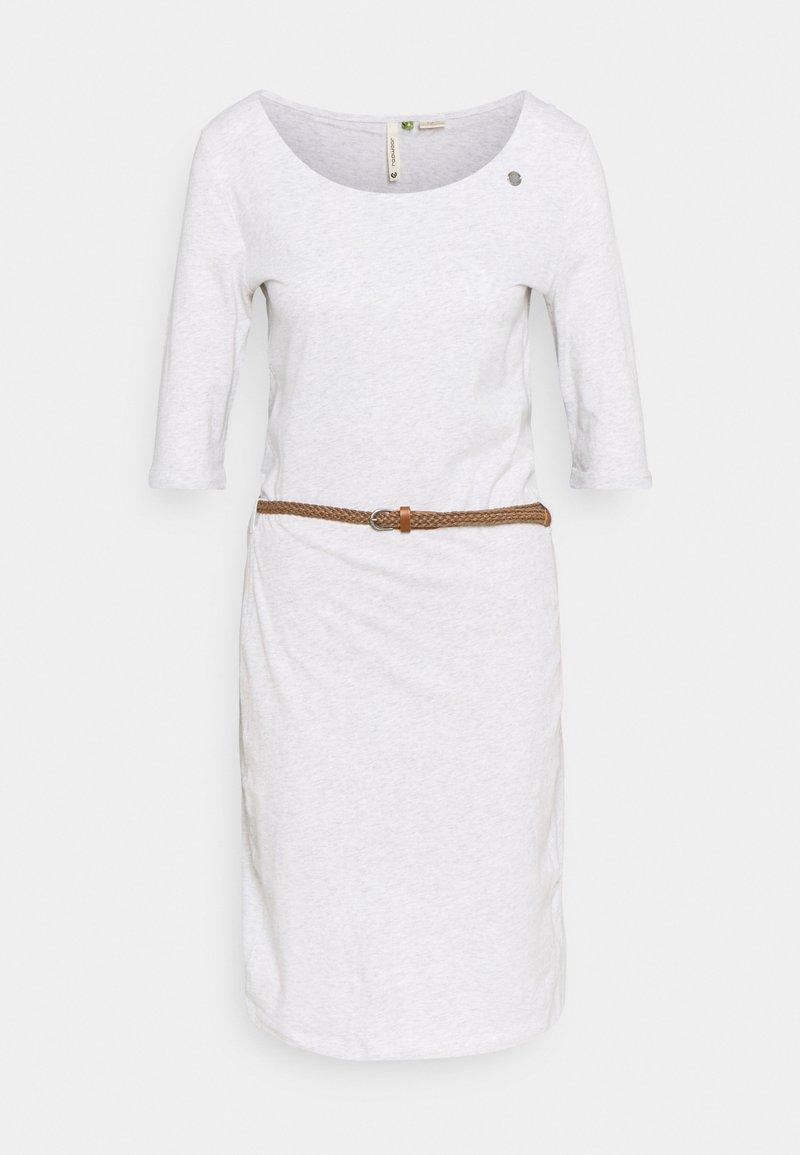 Ragwear - TAMILA  - Jerseykjole - white