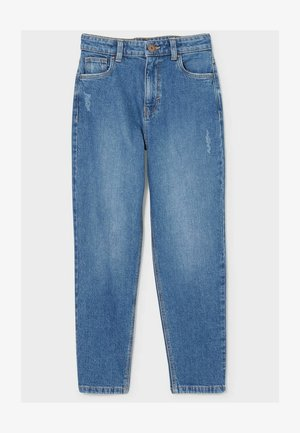 Relaxed fit jeans - denim-blue