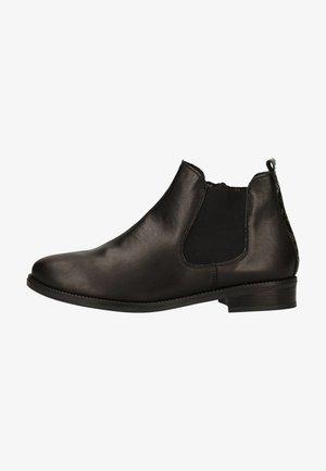 Boots à talons - schwarz/rauch /